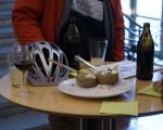 Kulinarischen Frühling herbei diskutieren bei bei Ofenkartoffeln und Kräuterquark