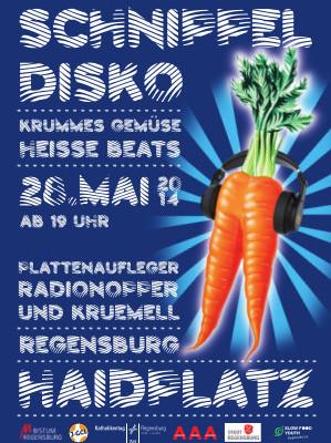 Krummes Gemüse und heiße Beats – Schnippeldisko beim Katholikentag 2014